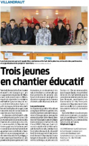C'est grâce à la mobilisation des conseillers de la Mission Locale Sud-Gironde que trois jeunes en parcours d'insertion ont pu bénéficier de cette action proposé par le département de la Gironde et coordonné par la CDC Sud-Gironde